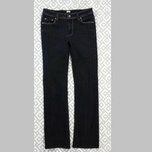 Reba Rhinestone Embellished Black Bootcut Jeans 4